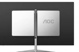 AOC se alía con Porsche para lanzar dos monitores de diseño con panel IPS y 90% de cobertura DCI-P3
