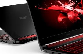 Los nuevos portátiles Gaming Acer Nitro llevan procesadores Intel de novena generación y gráficas GeForce GTX bajo una pantalla de 144 Hz y 3 ms