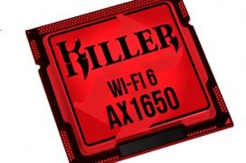 La tarjeta de red Killer AX1650 integra un chip de Intel con WiFi 6 para alcanzar 2,4 Gbps