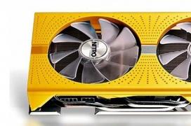 La AMD Radeon RX 590 se viste de dorado para conmemorar el 50 aniversario de AMD