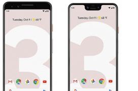 Salen las primeras imágenes en forma de render de los Pixel 3a y Pixel 3a XL de Google