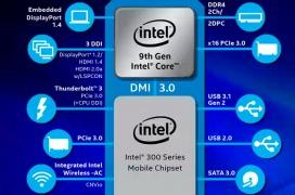 La novena generación de procesadores Intel Core llega a portátiles de alto rendimiento con 8 núcleos y hasta 5 GHz
