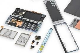 El desmontaje del Samsung Galaxy Fold revela que se trata de un terminal excepcionalmente frágil