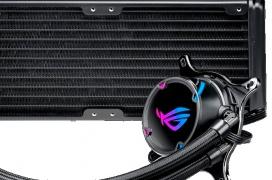 Nuevas refrigeraciones líquidas ASUS ROG Strix LC con RGB y bomba regulable mediante PWM