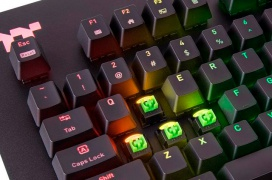 Thermaltake dota de interruptores Razer Green a su teclado gaming Level 20 RGB