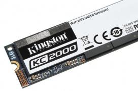 Los Kingston KC2000 llegan con velocidades de hasta 3200MB/s y encriptación AES 256 bits