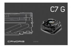 El Cryorig C7G se deja ver en la web del fabricante con una capa de grafeno y mayor potencia que la versión en cobre