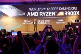 AMD anuncia el Ryzen 9 3900X de 12 núcleos basado en Zen 2 y 7nm por 500 euros