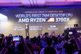 AMD anuncia que sus Ryzen 7 de 3a basados en Zen 2 y 7nm superan al Intel Core i7-9700K