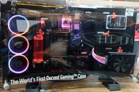 MSI MEG Alchemy 700X, la primera caja gaming con diseño curvado