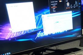 El monitor Aorus KD25F presume de un tiempo de respuesta de 0,5 ms y 240 HZ de frecuencia de actualización