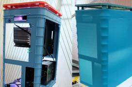 InWin se pasa al plástico con su colorida torre Alice con