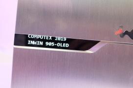 InWin añade una pantalla OLED a su semi torre 905 con soporte para placas E-ATX
