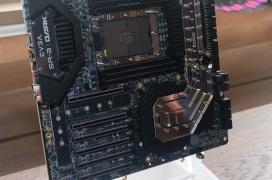 La EVGA SR-3 Dark con formato E-ATX, bloques de agua y grandes dosis de alimentación llega para soportar al Xeon W-3175X de 28 núcleos