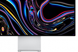 El monitor Apple Pro Display XDR con resolución 6K y HDR ofrece un impresionante brillo de hasta 1.600 cd/m²