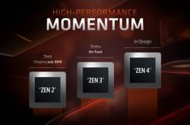 La arquitectura AMD Zen 3 ya está en camino y está pensada para un proceso mejor que los 7nm actuales