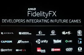 El nuevo filtro AMD FidelityFX proporciona mayor nitidez a los juegos