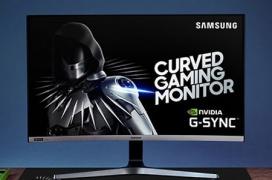 Samsung desvela el monitor gaming CRG5 de 27 pulgadas en panel curvo VA Full HD con 240 Hz y G-Sync
