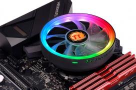 Iluminación ARGB y capacidad para refrigerar hasta 65W en el disipador de perfil bajo Thermaltake UX100