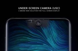 Oppo se suma a la técnica de instalar la cámara frontal tras la pantalla del Smartphone