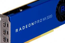 AMD Radeon Pro WX 3200, una gráfica para estaciones de trabajo compactas por menos de 200 Dólares