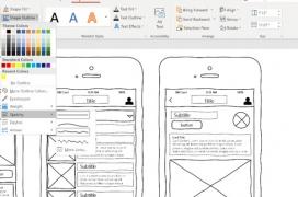 Sketchy Shapes llega a Word, Office y Powerpoint para ayudar a diseñadores