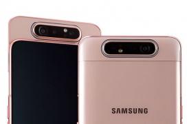 El Samsung Galaxy A80 llega a España con un sistema de cámaras giratorias por 669 Euros