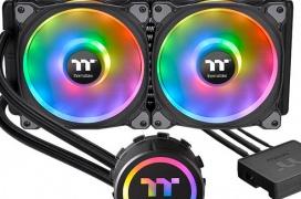 Thermaltake anuncia sus refrigeraciones líquidas AIO Floe DX RGB con LEDs ARGB y compatibilidad con Alexa
