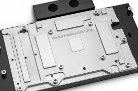 Llegan los bloques de agua de EK-Vector Special Edition para las gráficas RX 5700 y RX 5700XT con un toque de iluminación RGB por 180€