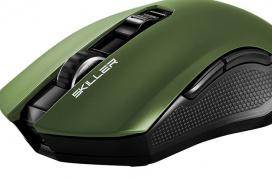 Sharkoon Skiller SGM3, un ratón inalámbrico con 40 horas de autonomía por menos de 40 Euros