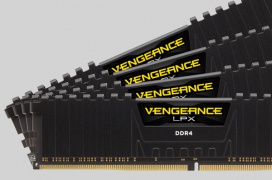 Corsair añade módulos DDR4 de 32GB a su gama Vengeance LPX para sistemas con hasta 256GB de RAM