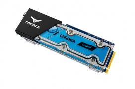 Teamgroup lanza los SSD M.2 PCIe T-Force Cardea con refrigeración líquida y una controladora RGB magnetizada