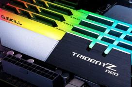 Las Trident Z Neo de G.SKILL llegan optimizadas para la plataforma X570 a DDR4 3800 MHz CAS 14 y adornadas con RGB