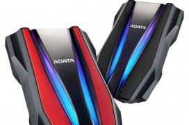 El disco duro externo HD770G de Adata llega con iluminación RGB y resistencia al agua con certificación IP68