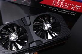 La XFX RX 5700 XT Black Wolf se filtra con un grosor de 2.5 slots y refuerzos estructurales