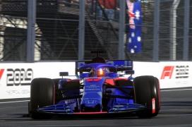 El último parche de F1 2019 implementa NVIDIA DLSS y AMD FidelityFX para mejorar la calidad