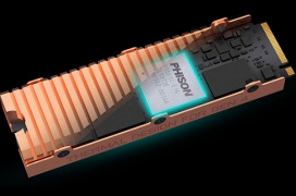 Llega la controladora SSD Phison PS5018-E18 alcanzando hasta 7 GBps y 1M IOPS