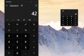 """La calculadora de Windows obtendrá un modo """"siempre encima"""" para facilitar su uso"""