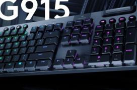Logitech G915 Lightspeed Wireless, teclado mecánico con un tiempo de respuesta de 1ms por 250 Dólares