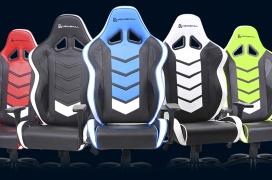 Inclinación de 180 grados y reposabrazos 4D son algunas de las características de las nuevas sillas gaming de Newskill