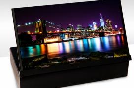 AUO desvela un panel impreso OLED 4K de 17,3 pulgadas a 120 HZ y una nueva pantalla AMOLED plegable para smartphones