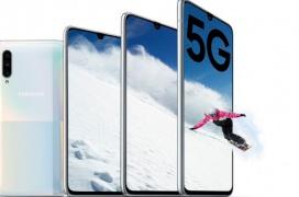El Samsung Galaxy A90 5G llega con Snapdragon 855 y cámara frontal de 32 MP con Live Focus Mode