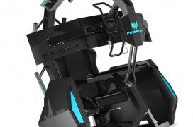 La silla gaming Predator Thronos Air se presenta con un diseño modular y un precio de 8975 euros