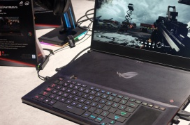 El portátil gaming Asus ROG Zephyrus S GX701 también se apunta a los 300 Hz de refresco