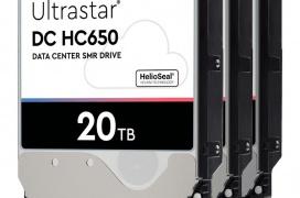 Western Digital alcanza los 20 TB en su Ultrastar DC HC650 SMR destinado a data centers