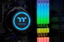 Iluminación RGB y hasta 3.600 MHz en los kits de memoria DDR4 Thermaltake TOUGHRAM RGB