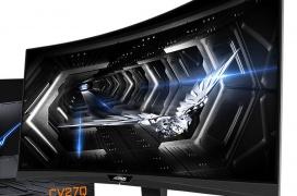 Gigabyte AORUS CV27Q: 27 pulgadas QHD con curvatura 1500R, FreeSync 2 HDR y 165 Hz por 499 Euros