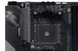 10 fases de alimentación y WiFi 6 en las placas base compactas Asus ROG Crosshair VIII Impact y Strix X570-I Gaming para Ryzen 3000