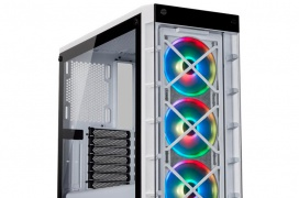 La caja Corsair iCUE 465X RGB viene con 3 ventiladores y doble cristal templado por 120 Euros