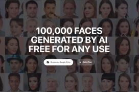 Generated Photos pretende luchar con los servicios de fotos stock proporcionando fotos de caras creadas mediante IA
